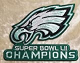 Philadelphia Eagles NFL Super Bowl LII Champions 3.5'' Embroidered Patch!