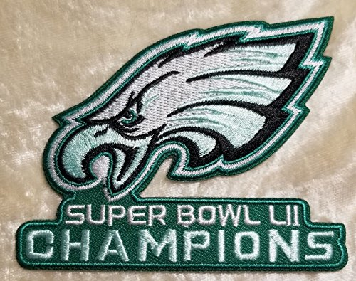 Philadelphia Eagles NFL Super Bowl LII Champions 3.5'' Embroidered Patch! by Mastodon