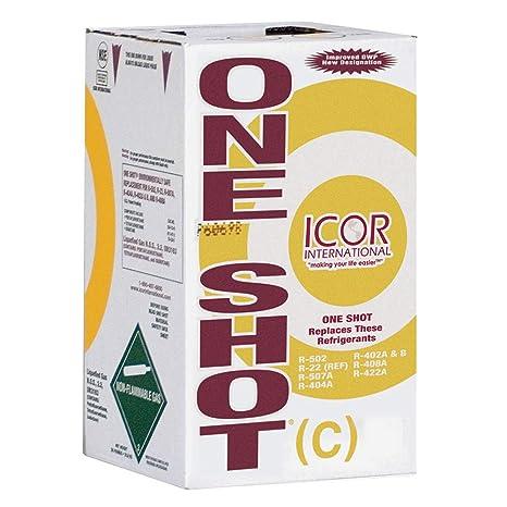 Amazon com: Icor One Shot Refrigerant 24lb R-502 R-402A/B R