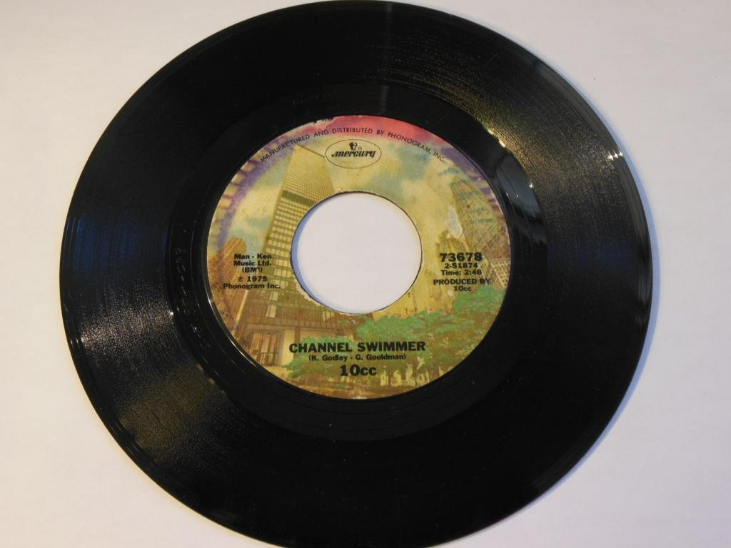 45vinylrecord I'm Not In Love/Channel Swimmer (7''/45 rpm)