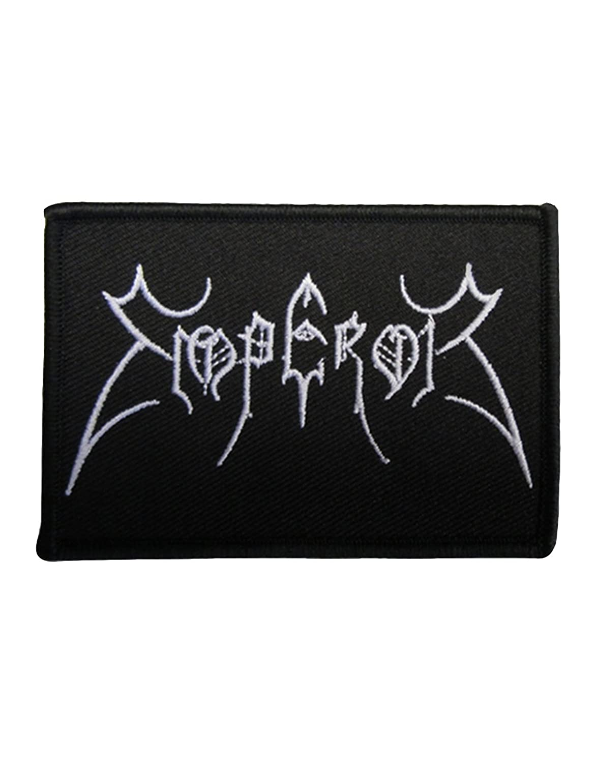 Emperor Patch Original Band Logo Official New Black Cotton Sew On 9cm x 6cm