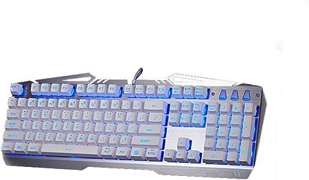 Xenics Tormenta X Profeesional Metal LED Teclado para Juegos diseño de Titan, Key Sentido, Durabilidad Carcasa de Metal Doble Resistente al Agua de ...