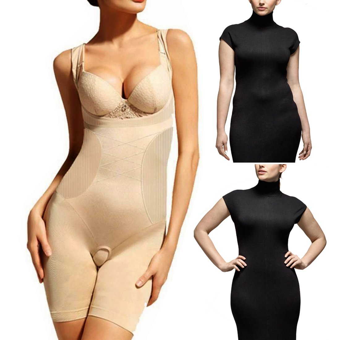 3764d94b371 Jm Woman Nylon Size M Weight Loss Slim N Lift Slimming Waist Shaper Trimmer  Belt Body California Beauty Brown 1 Pieces -A10  Amazon.in  Clothing   ...