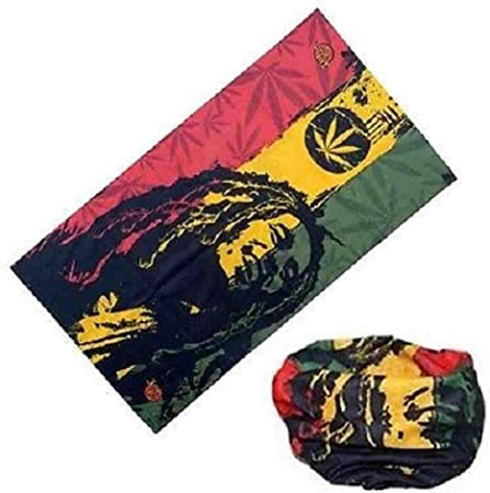 Bob Marley Unisex Neck Gaiter Face Cover