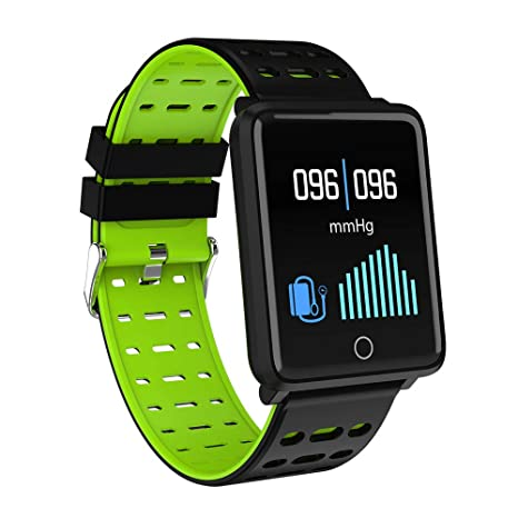 Cywulin Fitness Tracker Waterproof IP68 Smartwatch Activity Tracking Bracelet Heart Rate Sleep Blood Pressure Oxygen Monitor for iOS Android Phone ...