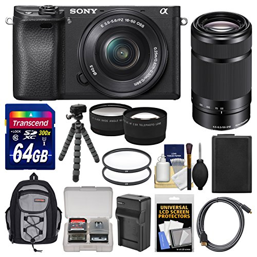 sony-alpha-a6300-4k-wi-fi-digital-camera-16-50mm-with-55-210mm-lens-64gb-card-case-battery-charger-f
