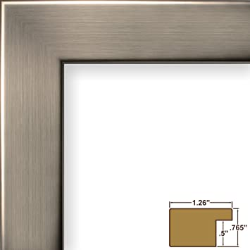 craig frames 26966 22 by 28 inch picture frame smooth wrap finish 126