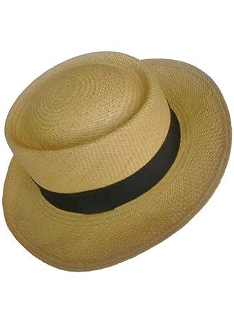 0d57451e06c Gamboa Genuine Unisex Panama Hat Summer Sun Hat UPF50 Gambler Straw ...
