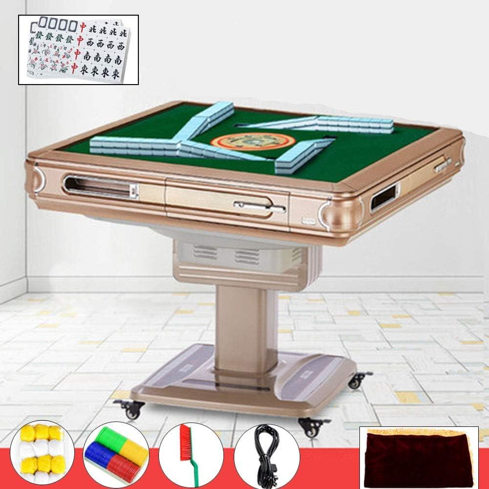 KEMANDUO Plegable eléctrica de la máquina Mahjong Inicio automático silencioso Juego de Mesa: Amazon.es: Hogar