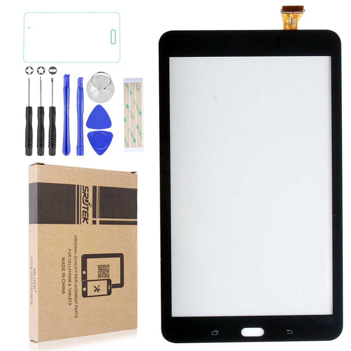 Screen Digitizer replacement for Samsung Galaxy Tab E 8.0 SM-T377,8'' Touch Screen Digitizer for SM-T377 T377 T377A T377V T377P T377T(Black)