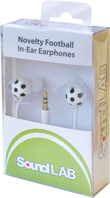 SoundLAB de balón de fútbol auriculares in-ear: Amazon.es: Electrónica