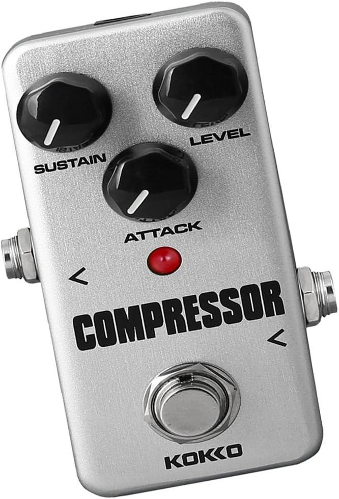 Para La Guitarra Eléctrica Mini Pedal Del Efecto Compresor True Bypass