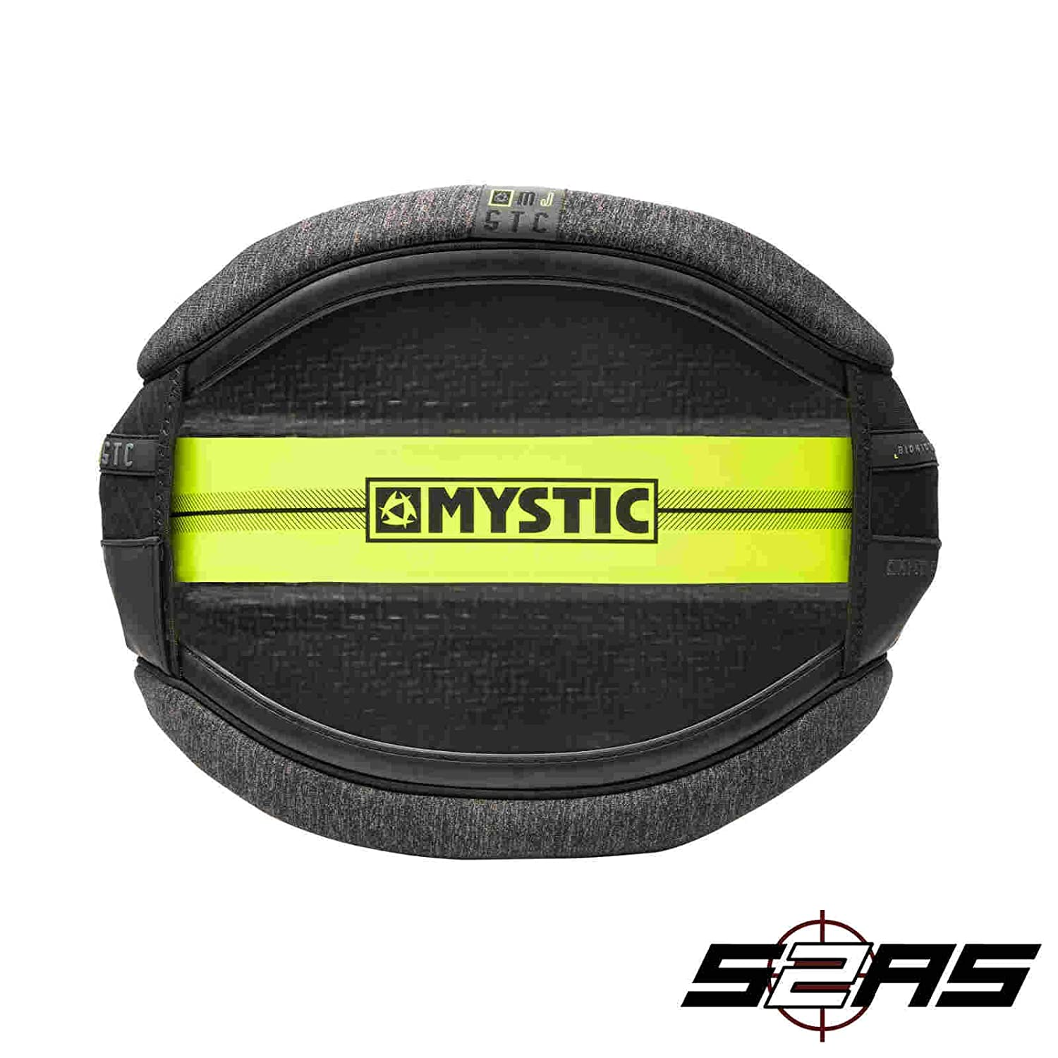Mystic 2018 Majestic Waist Harness - No Spreader Bar Lime 180072 ...