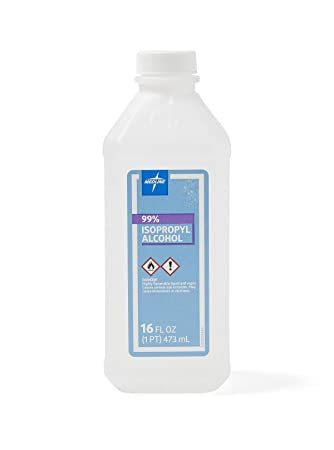 Buy Isopropyl Alcohol Antiseptic Solution 99 16 Ounces Case Of 12 Online At Low Prices In India