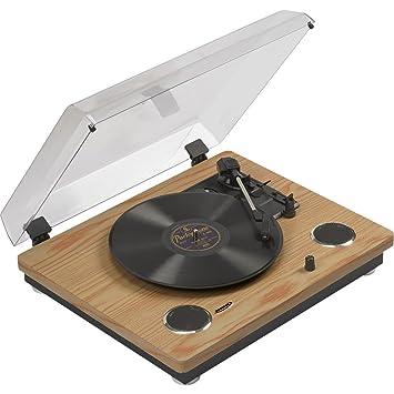 Zennox LP conversión de Madera cinturón Disco Tocadiscos Record ...
