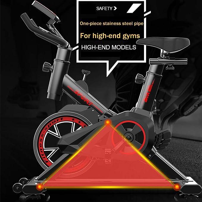 TXDWYF Bicicleta Spinning Profesional Magnetica, Fitness Bicicleta ...