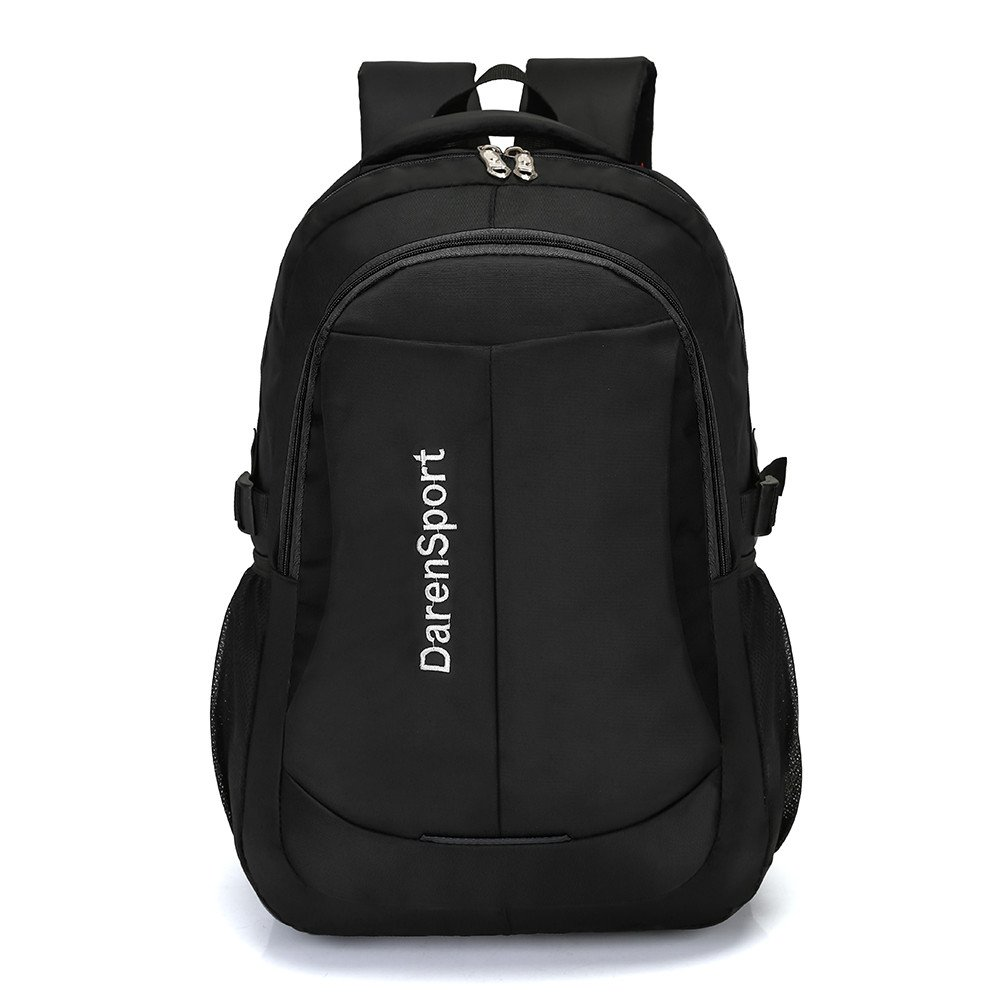 Rosiest School Backpack for Girls Boys for Middle School Men Nylon Backpack Solid Color Men Travel Student School Laptop Bag