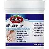 Abtei 5012462 weiße Vaseline Dose, 125 ml