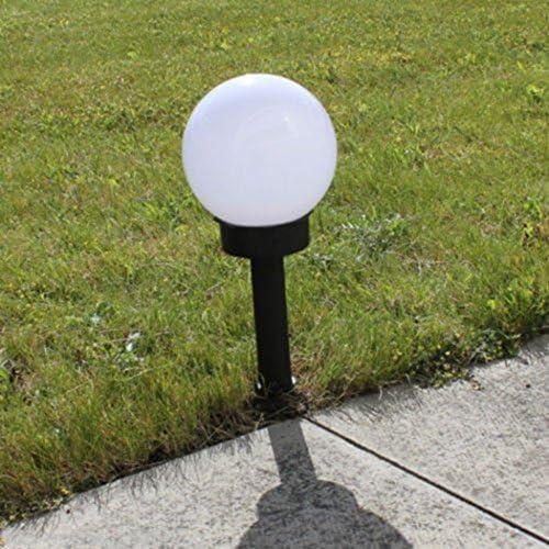 XWB 4pcs Waterproof LED Solar Power Outdoor Garden Path Light Yard Lawn Road Spot Lamp Spherical Patio Landscape Lights