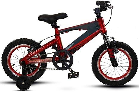 Axdwfd Infantiles Bicicletas Bicicleta for niños con Rueda de ...