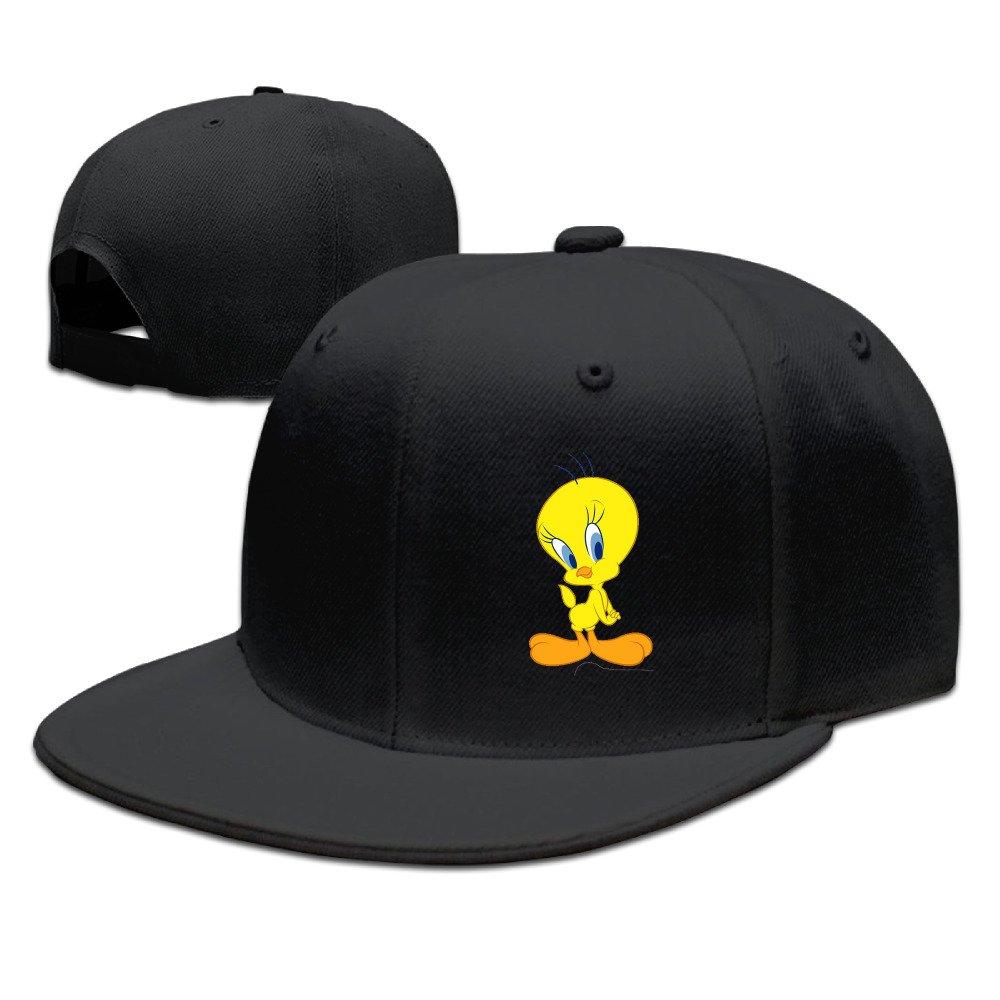 Amazon.com  LALayton Unisex Tweety Bird Cool Cotton Baseball Hats Sun  Visors - Black  Clothing 426a279d57eb