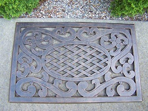 Oakland Living Mississippi Cast Aluminum Doormat, Antique (Oakland Living Mississippi Cast)