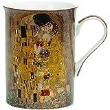 Heath McCabe Gustav Klimt The Kiss Fine Bone China Mug