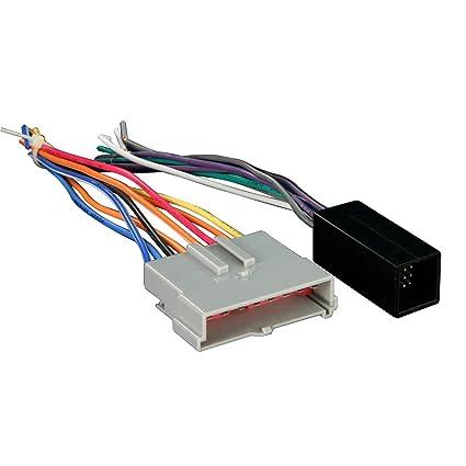 Amazon.com: Metra 70-5511 Radio Wiring Harness FD Amp Integration ...