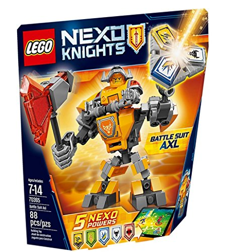 Nexo Knights - Battle Suit Axl (Lego Suit)