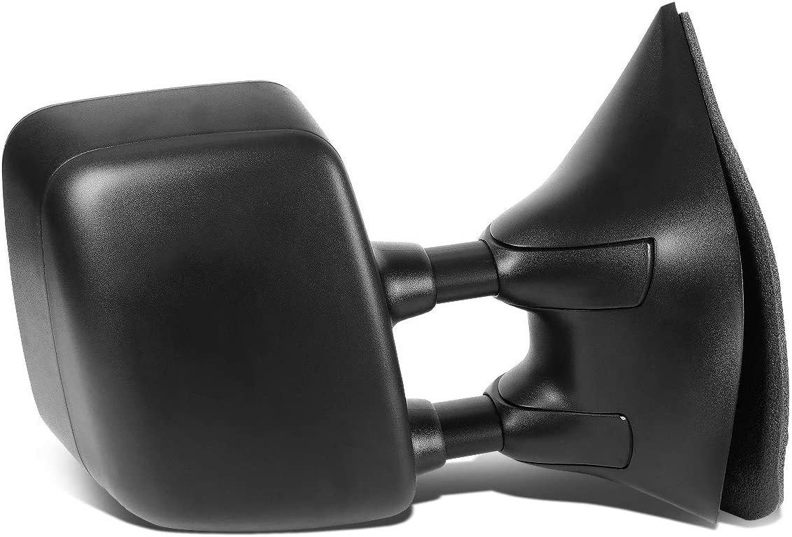 DNA Motoring MR-OEM-031-R Factory Style Passenger Right Side Manual Mirror For 05-14 Titan//Armada