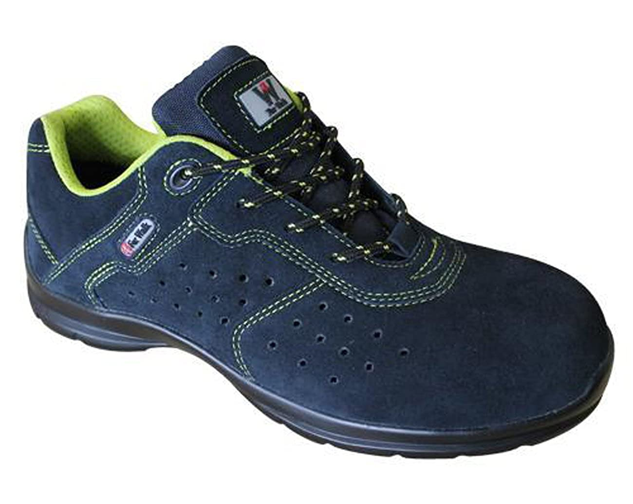 4Walk Nairobi S1+P SRC - zapatos de seguridad ligeros - azul - talla 37 JjRCQ69