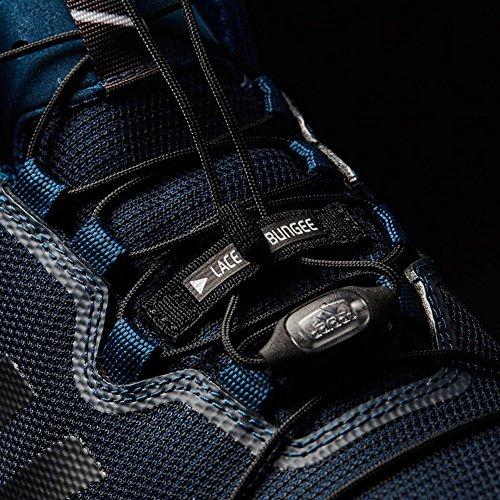 Adidas Mannen Terrex Bijna Mid Gtx-surround Cross-trainer, Zwart, 50,7 Eu Blauw (azunoc / Negbas / Gritre)