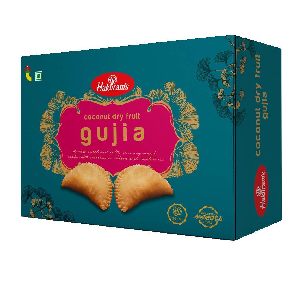 Haldiram's Coconut Dry Fruit Gujia, 400g