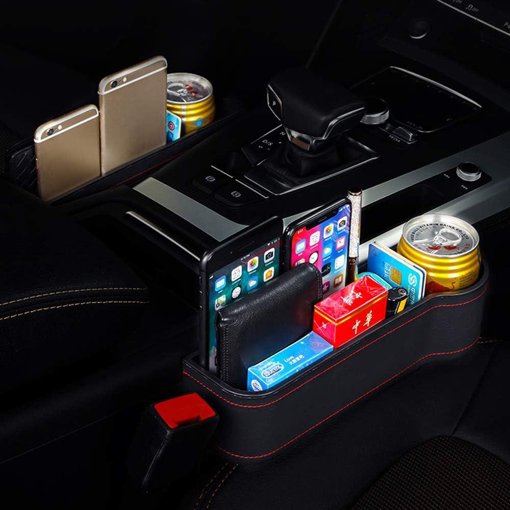 GLOBALDREAM Car Seat Gap Pocket Car Seat Gap Storage Organizer Auto Seggiolin Fessura da Tasca Custodie Filler Organizer Catcher per Riporre Sinistra//Ll Diritto
