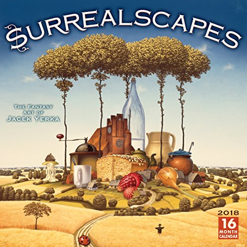 Surrealscapes: The Fantasy Art Of Jacek Yerka 2018 Wall Calendar (CA0165) ()