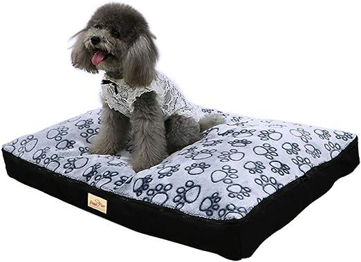 BingoPaw Cama para Perro Impermeable y Lavable 80 x 60 x 8cm Cómoda Sofá con Cojín Desmontable Cama Suave para Macotas Perros Gatos Tamaño L: Amazon.es: Productos para mascotas