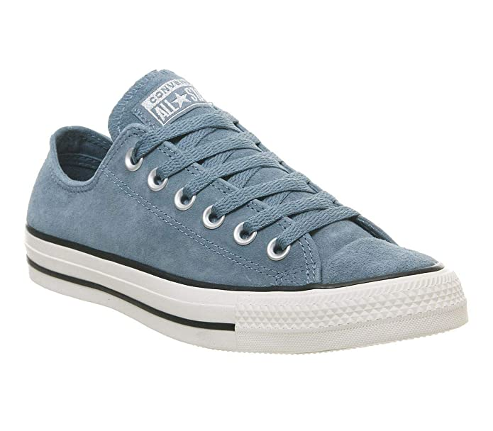 Converse Chucks Chuck Taylor All Star Low Top Sneaker Damen Herren Unisex Blau (Celestial Teal)