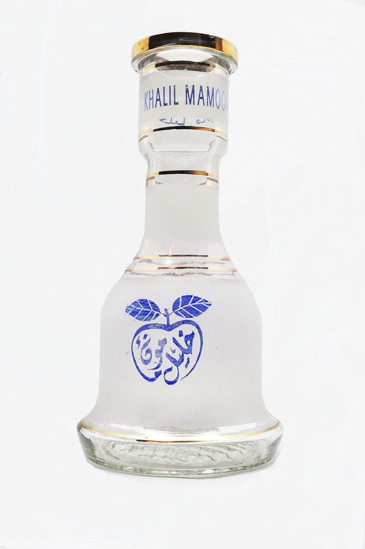 KM Khalil Mamoon narguile Cafe repuesto Base jarrón botella de cristal