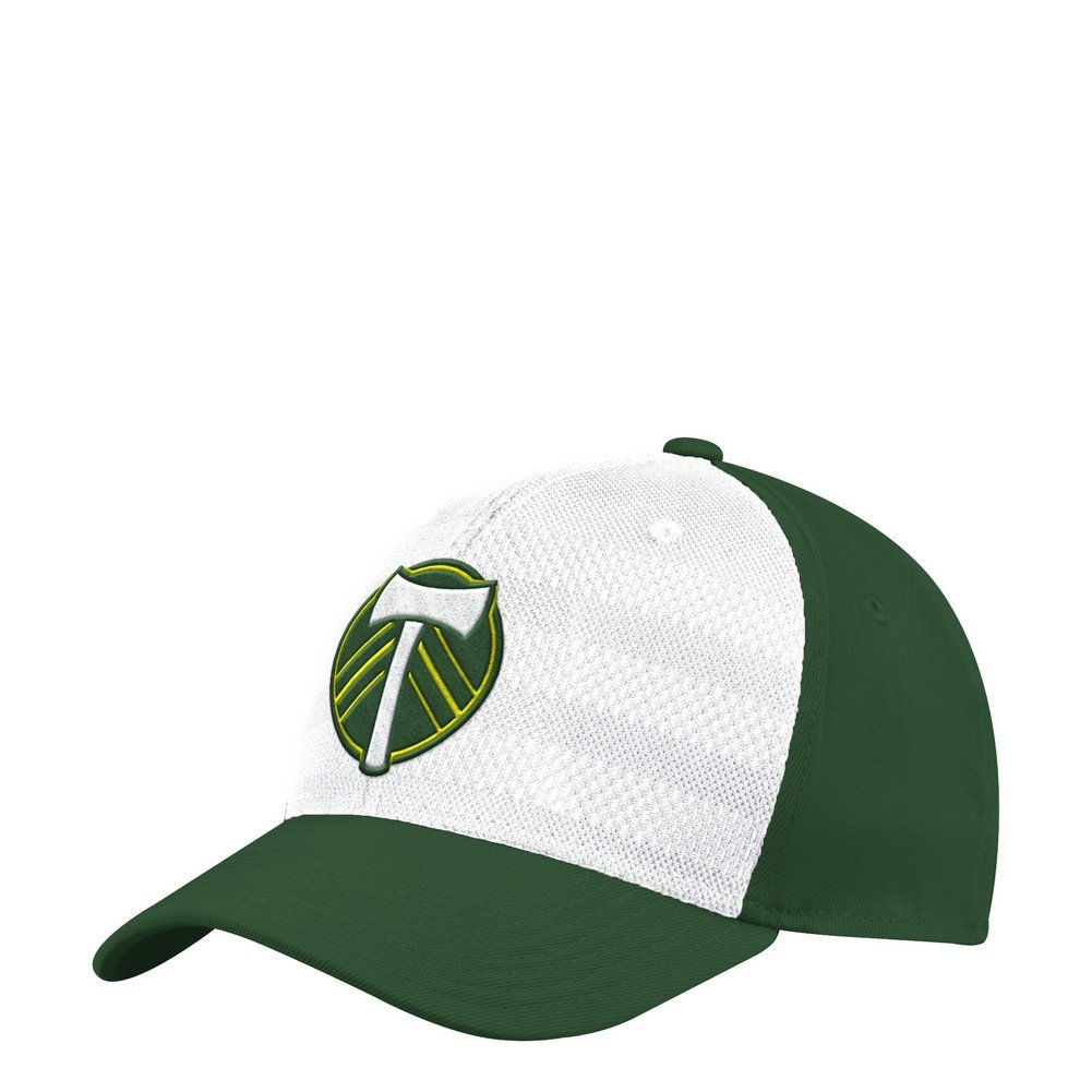 100% authentic 52ea3 6033c ... switzerland amazon adidas portland timbers hat authentic structured  flex fitted hat s m sports outdoors a359e 49795