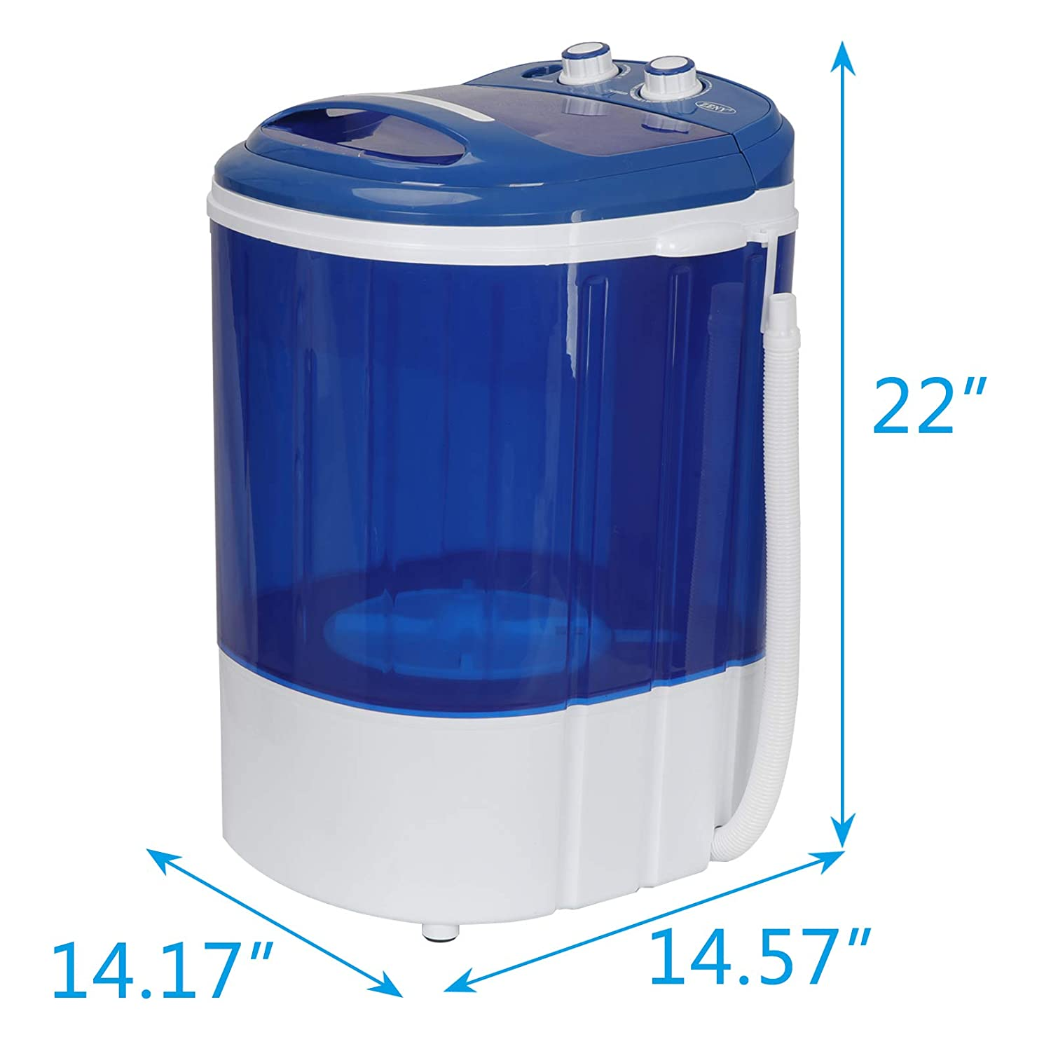 9lbs Portable Washer for Compact Laundry Semi-Automatic Compact Washer /& Spinner Mini Washing Machine
