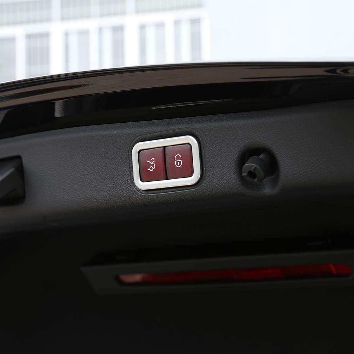 Cadre de bouton de porte arri/ère /électrique en ABS mat pour voiture Classe E W213 2016-2018