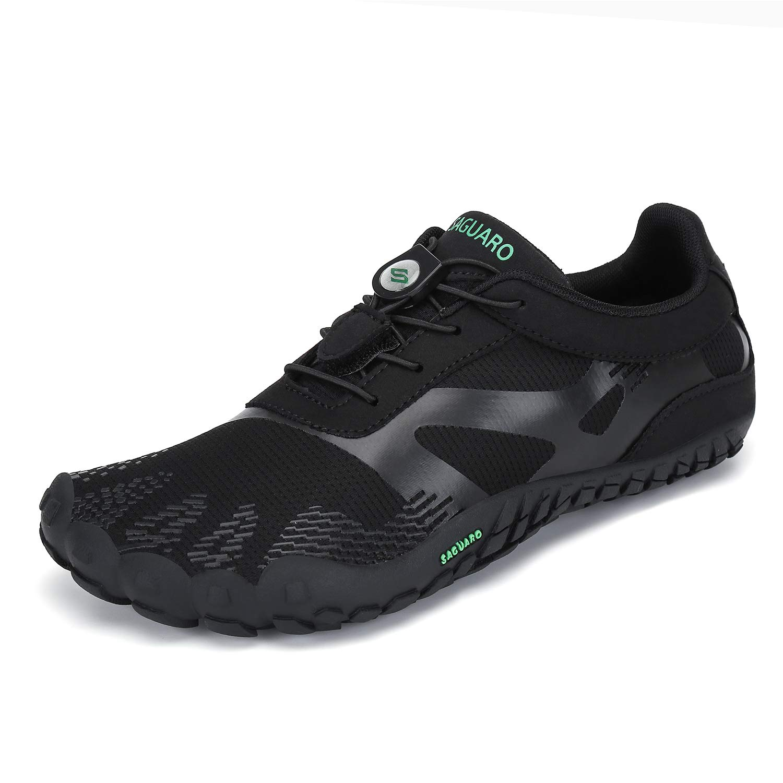SAGUARO Mens Womens Minimalist Trail Running Shoes Barefoot Walking | Wide Toe Box | Outdoor Cross Trainer | Zero Drop Sole