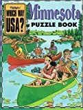 img - for Minnesota Puzzle Book (Highlights Which Way USA?)+ State Map book / textbook / text book