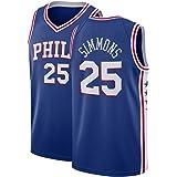 newest 2cad7 79ebb Amazon.com : OuterStuff Ben Simmons Philadelphia 76ers #25 ...