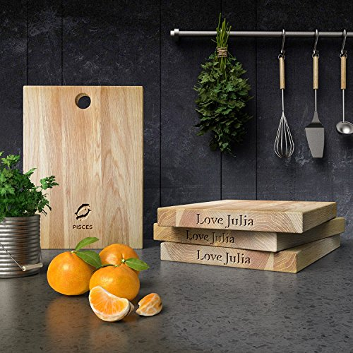 pisces gift chopping board