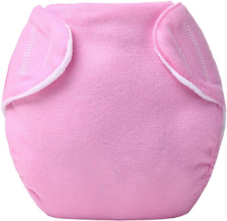 klebrige Stoffwindel einfarbig Rose Sommer-Gittermuster FairOnly Baby Windelh/öschen