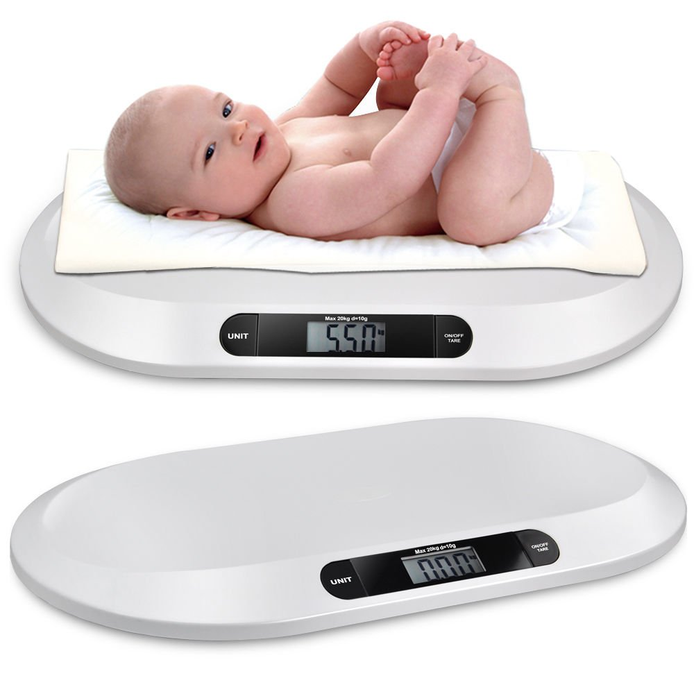 Reelva Non Slip Digital Electronic Precise Handy Weighing Baby Infant Pet Scales