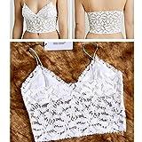 Womens Sexy Vests Bra Dress Singlet/Tube Dress Classical Tape L White
