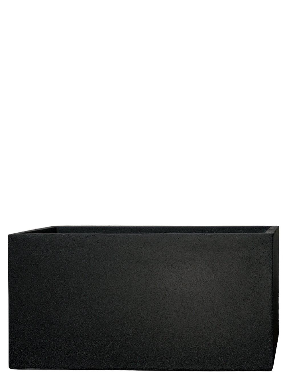PFLANZWERK® Pflanzkübel TUB Granit Anthrazit 45x100x45cm *Frostbeständig* *UV-Schutz* *Qualitätsware*