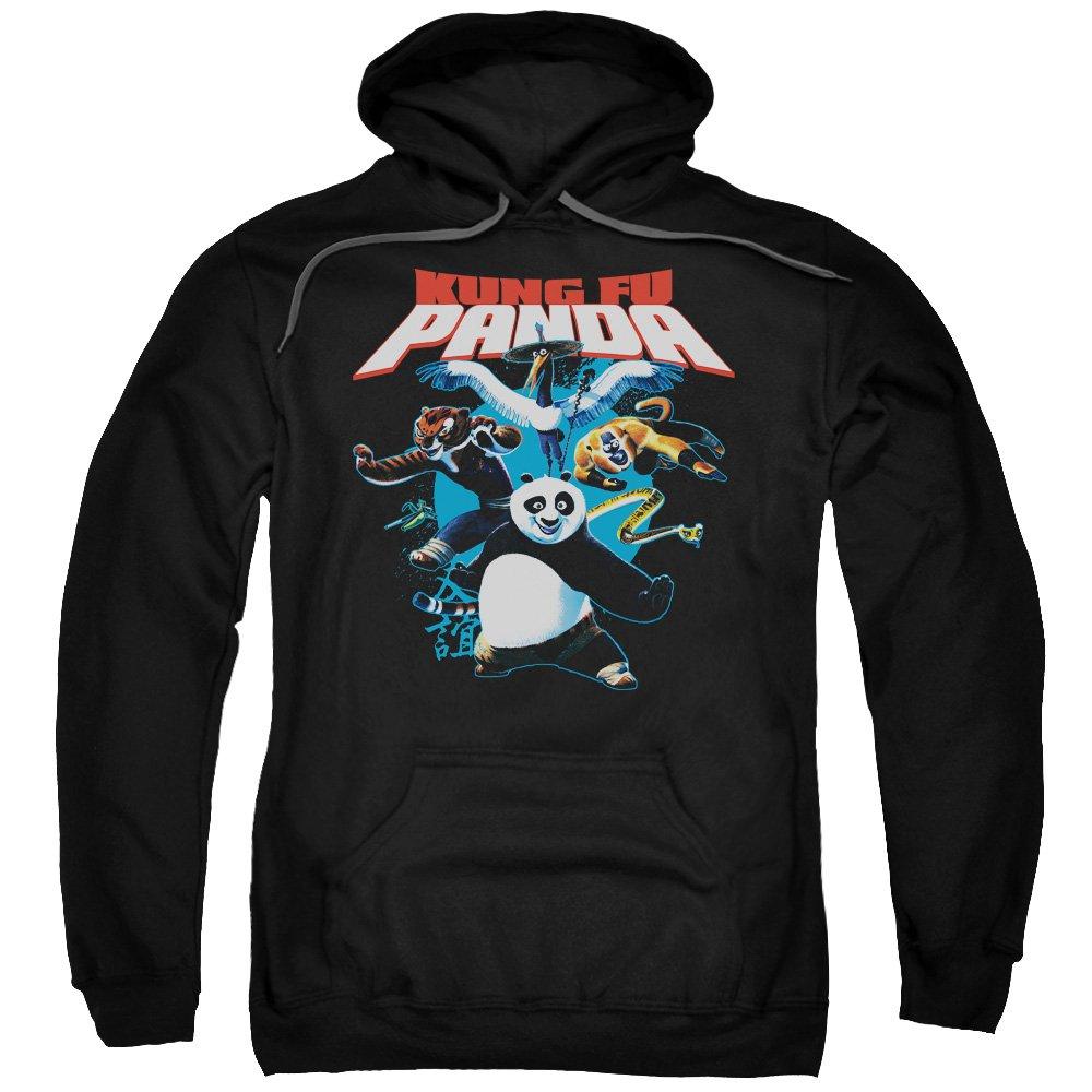 2Bhip Kung fu panda animierte karate komödie krieger hoodie für Herren